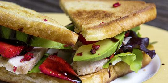Erdbeer-Sandwich