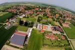 Landhof Sander von oben